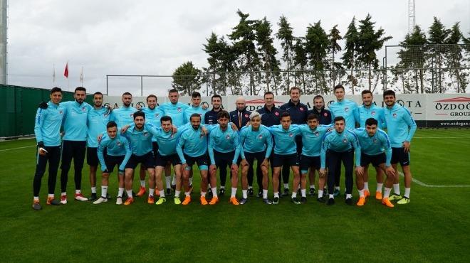Ümit Milli Futbol Takımı'nda İsveç maçı hazırlıkları sürüyor