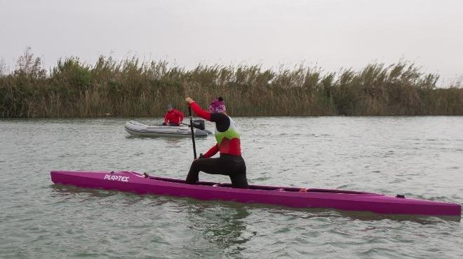 Bahar Kupası Durgunsu Kano Yarışları sürüyor.