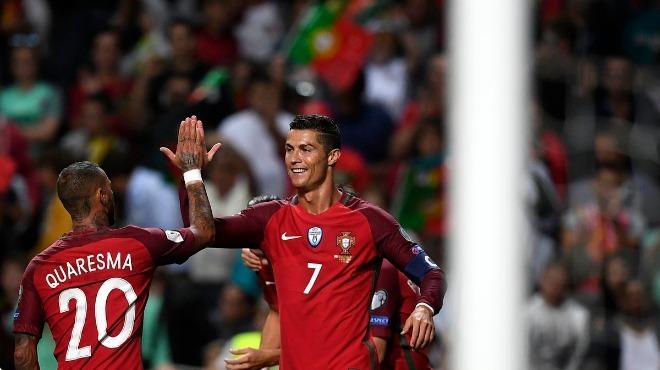 Portekiz, Mısır'ı Quaresma ve Ronaldo ile geçti! 2-1