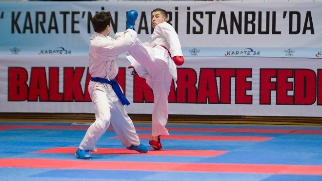 Balkan Karate Şampiyonası heyecanı İstanbul'da başladı