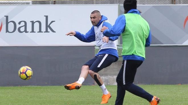 Trabzonspor'da Galatasaray maçı hazırlıkları sürüyor