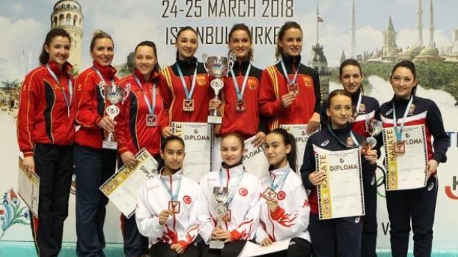 Balkan Karate Şampiyonası'nda Türkiye'den 8 madalya