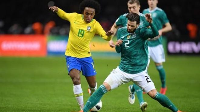 Brezilya, Almanya'nın rekor yenilmezlik serisini sonlandırdı
