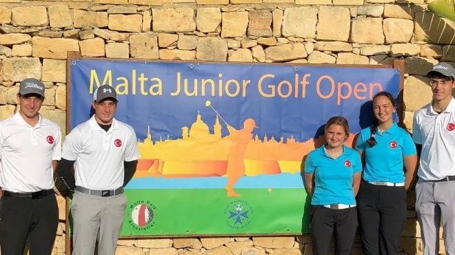 Milli golfçüler Malta'dan kupayla dönüyor