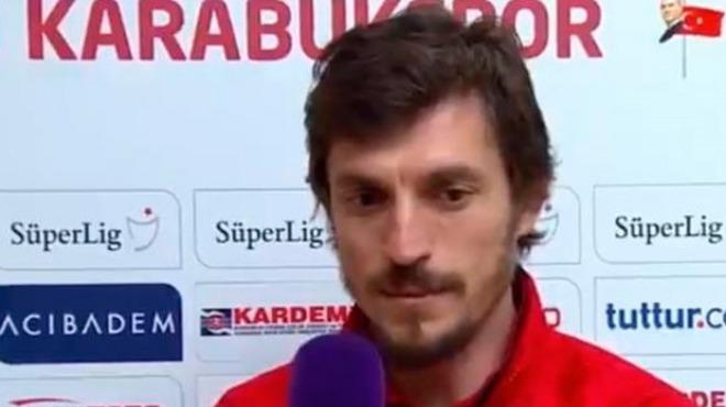 Karabüksporlu Ergin Keleş maç sonunda önemli açıklamalar yaptı! 'İlk yarıda...'