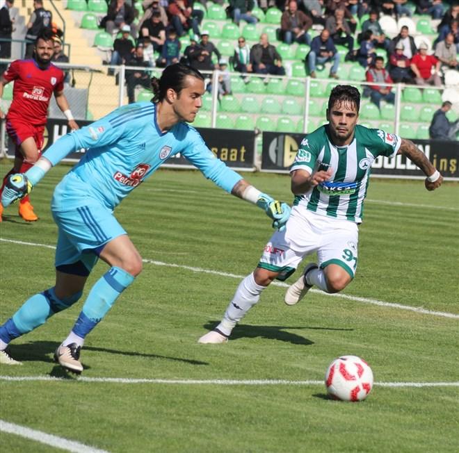 Giresunspor - Altınordu maçından dakikalar