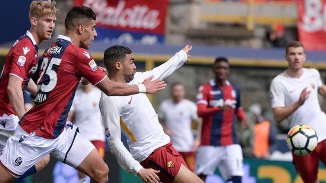 Roma deplasmanda Bologna'ya takıldı