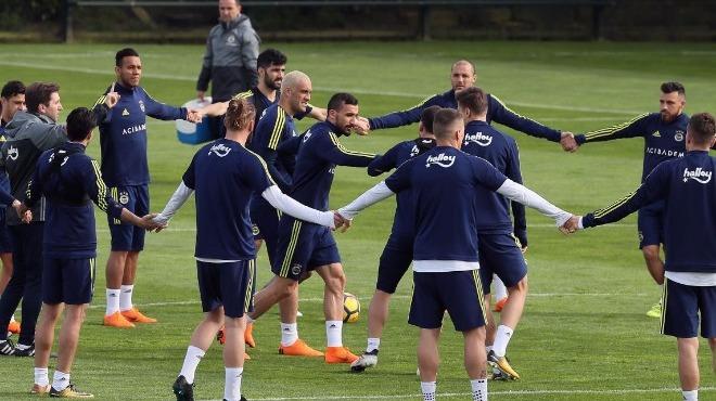 Fenerbahçe, Kayserispor maçının hazırlıklarını sürdürdü