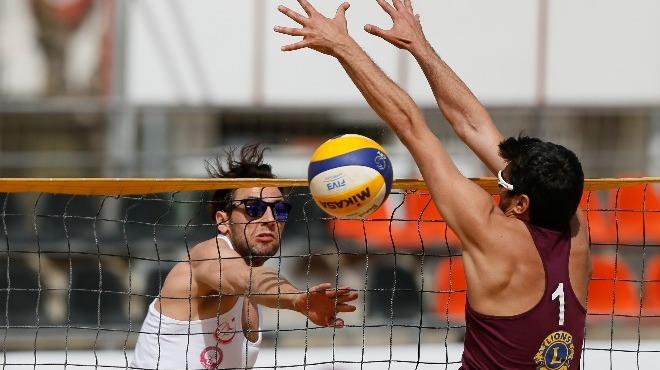 Aydın'da plaj voleybolu heyecanı
