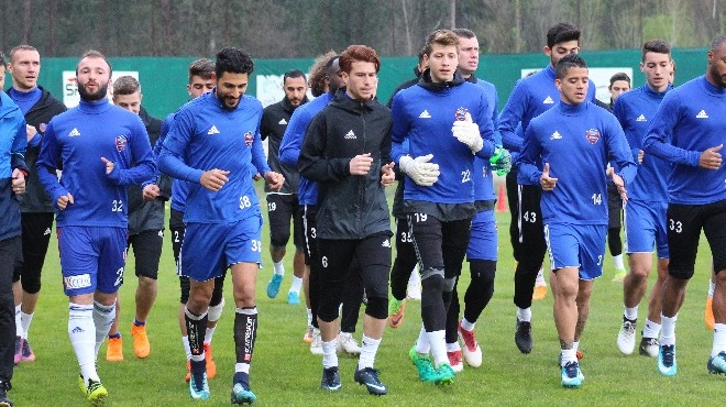 Kardemir Karabükspor'da Kasımpaşa maçı hazırlıkları devam ediyor!