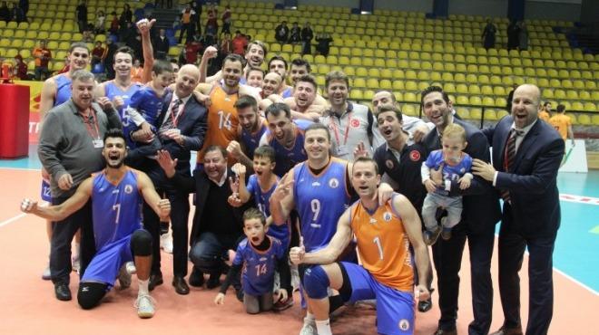 İstanbul Büyükşehir Belediyespor Galatasaray'ı yendi, seriyi eşitledi
