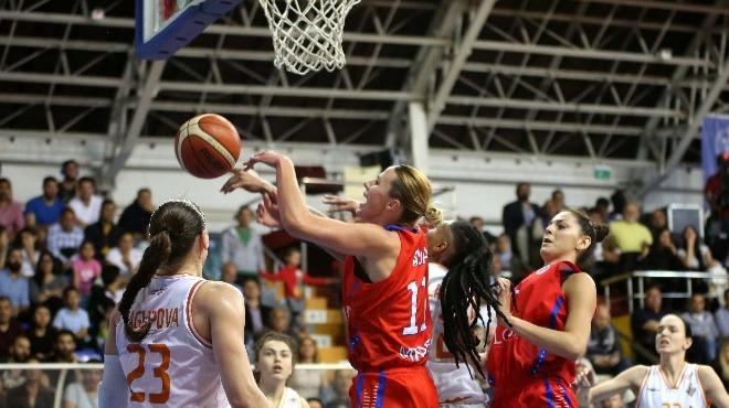 Çukurova Basketbol, Mersin Büyükşehir Belediyespor'u mağlup etti