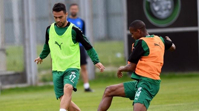 Bursaspor'da Kasımpaşa maçı hazırlıkları sürüyor