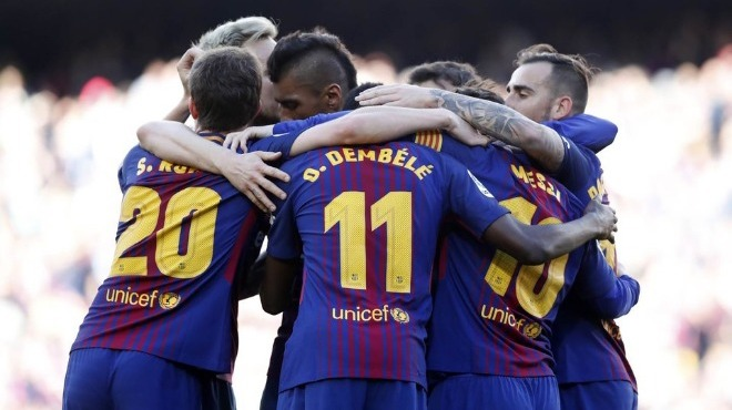 Barcelona'nın hedefi lig rekoruna ortak olmak! 38 maç...