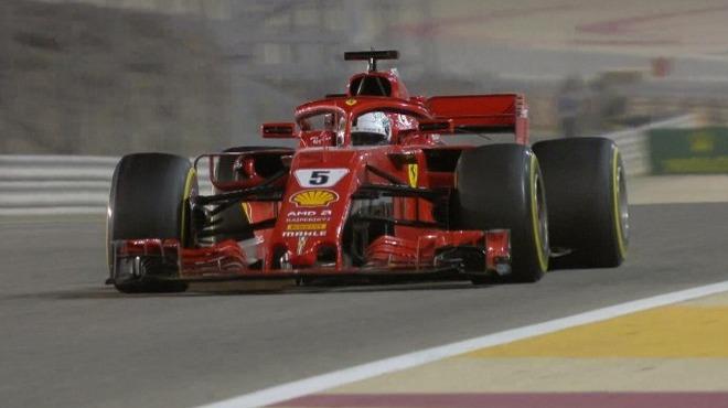 Vettel'den sezona hızlı başlangıç!
