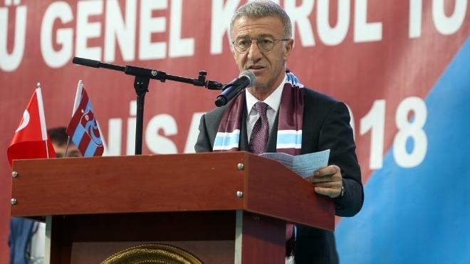 Ahmet Ağaoğlu'ndan takıma destek