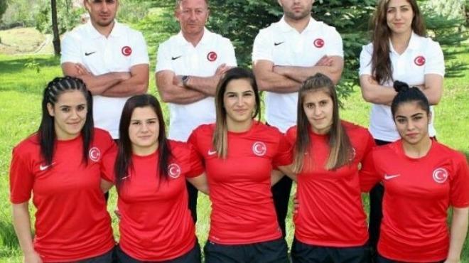 Kadın Güreş Milli Takımı'nda Avrupa Şampiyonası hazırlıkları