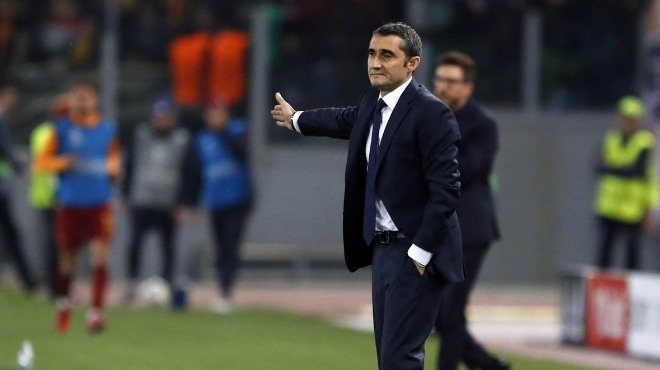 """Valverde: """"Roma, maçın başından sonuna kadar çok iyi oynadı"""""""