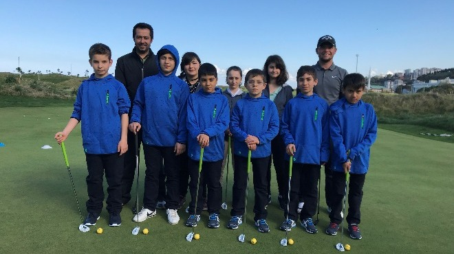 """""""Çocuk Evlerinden Golfe, Golften Olimpiyatlara Projesi"""" devam ediyor"""