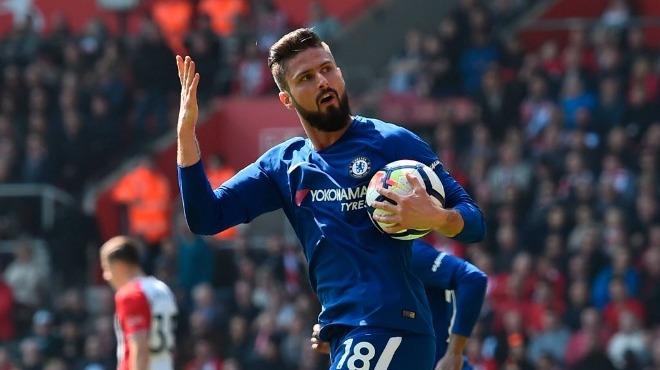Giroud bu sezon Chelsea'de kaç gol attı?
