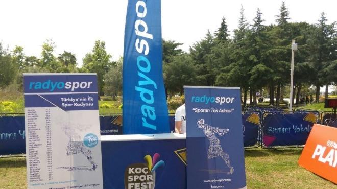 Okyar Tuncel,  Koç Spor Fest'i Radyospor'da anlattı