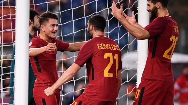 Cengiz sahne aldı, Roma kazandı!