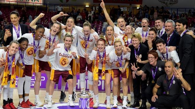 Galatasaray Kadın Basketbol Takımı, kupasını aldı!