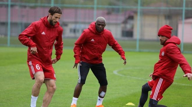 Sivasspor, Trabzonspor maçı hazırlıklarını tamamladı