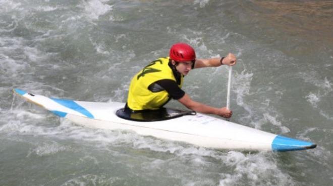 Akarsu Slalom Yusufeli Bahar Kupası sona erdi