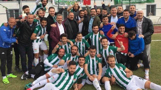 Kırşehir Belediyespor TFF 3. Lig'e yükseldi!