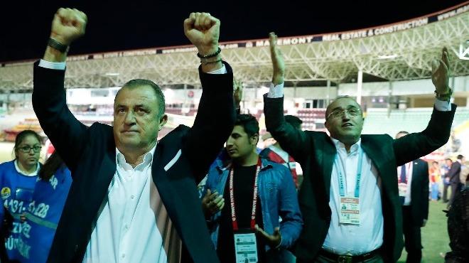 Terim şu anda Galatasaray'ın başında