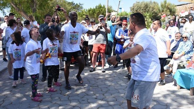 1. Uluslararası Down Plaj Futbol Festivali düzenlendi