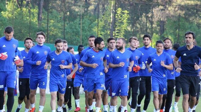 Karabükspor'da Konyaspor maçı hazırlıkları başladı