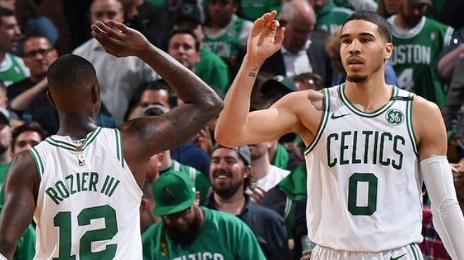 Celtics konferans yarı finaline iyi başladı! tatum-Horford işbirliği...