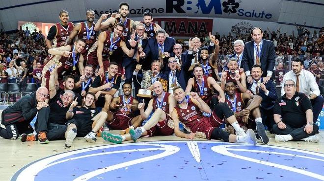 FIBA Europe Cup'ta 2017-18 şampiyonu Umana Reyer Venezia!