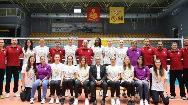 Galatasaray Kadın Voleybol Takımı CEV Şampiyonlar Ligi için iddialı
