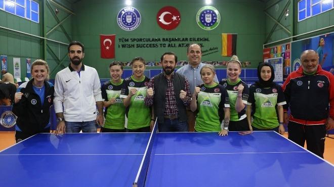 Bursa Büyükşehir Belediyespor finalin ilk maçında