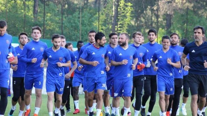 Karabükspor, Konyaspor maçına eksiklerle hazırlandı