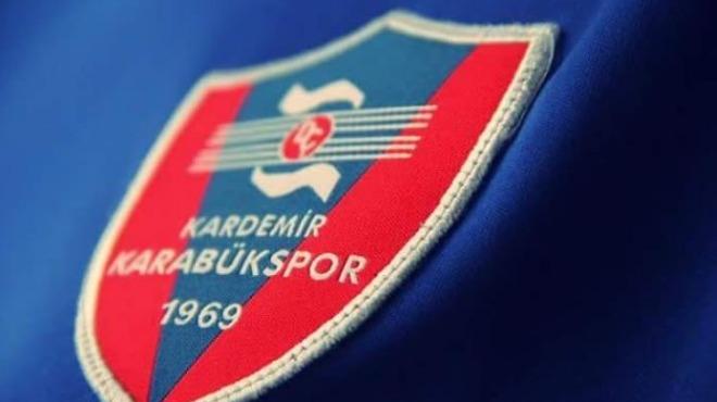 Karabükspor'dan resmi transfer yasağı açıklaması!