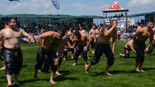 Manavgat Belediyesi 7. Geleneksel Yağlı Güreşleri başladı!