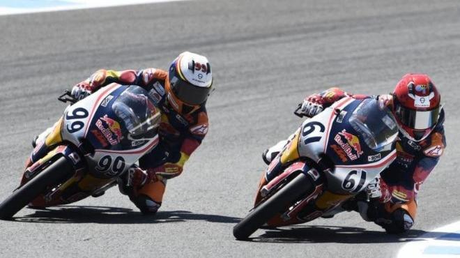 Can Öncü ve Deniz Öncü İspanya'da yarıştı