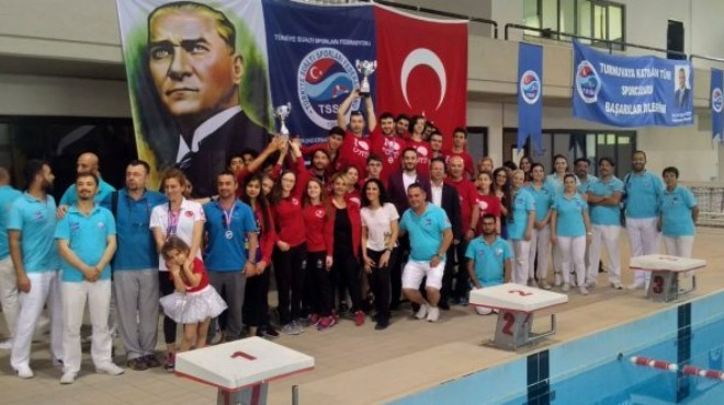 Sualtı sporlarında 11 Türkiye rekoru kırıldı