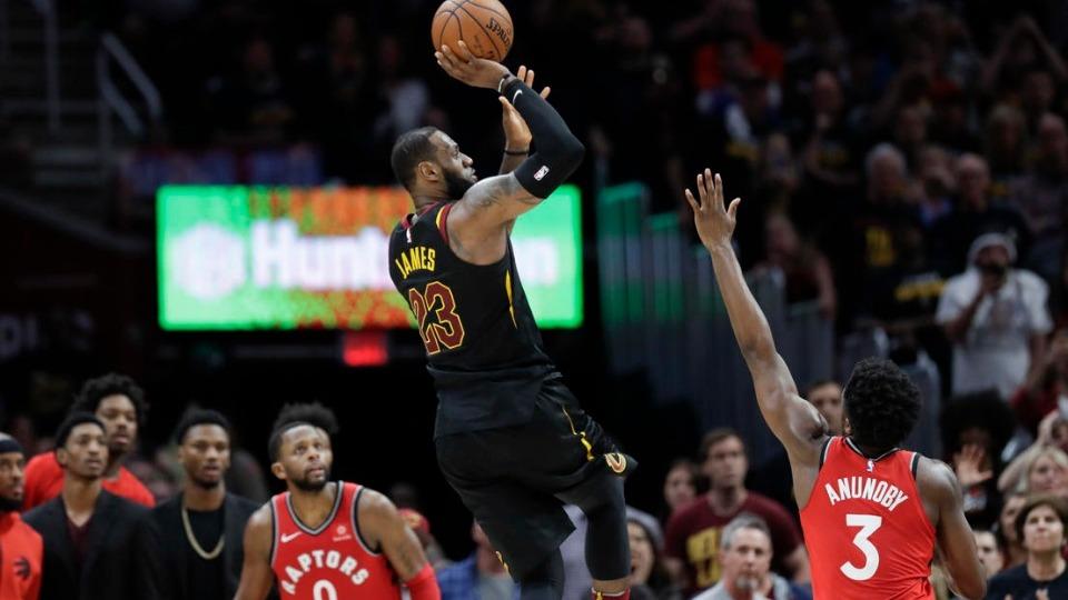 Cleveland Cavaliers, Toronto Raptors'ı süpürdü!