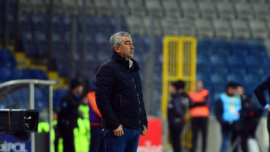 Başakşehir maçında Samet Aybaba'nın gole tepkisi