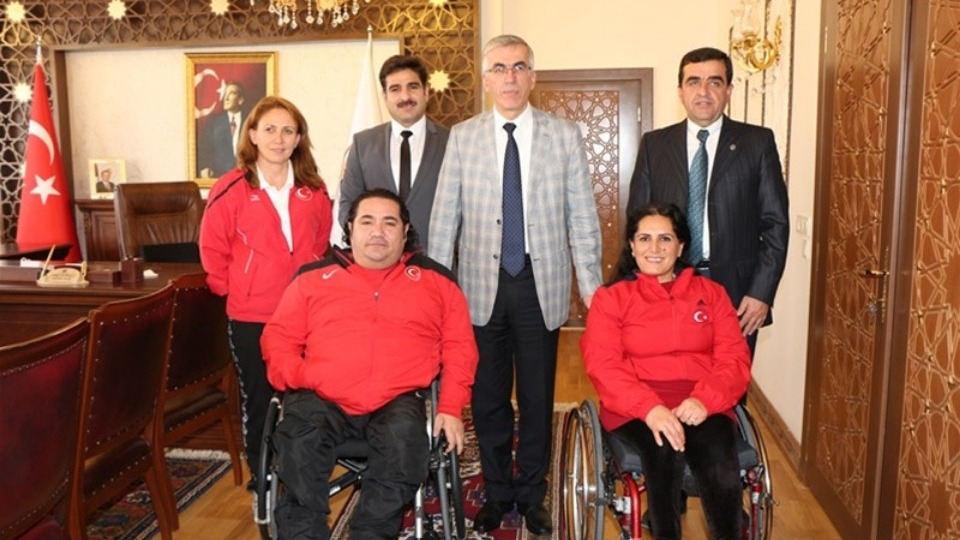 Paralimpik Atıcılık Dünya Şampiyonası'nda 3'üncülük geldi