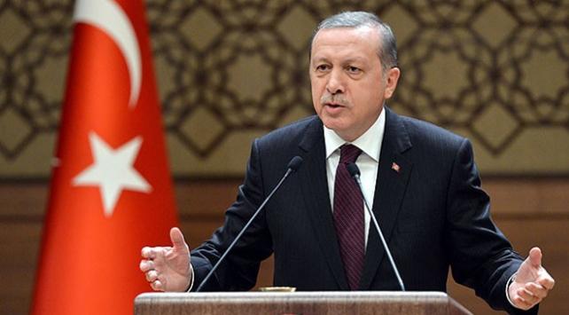 Cumhurbaşkanı Erdoğan, tekvandocuları kabul etti