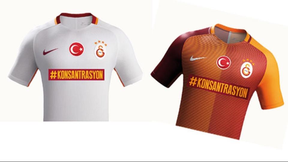 Galatasaray'dan Yeni Malatyaspor maçı için özel forma!
