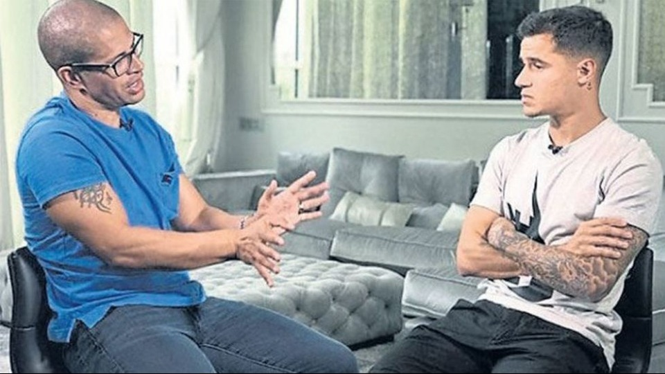 Televizyonculuğa başlayan Alex'in konuğu Coutinho!