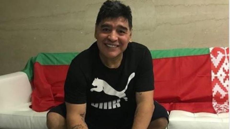 Maradona'dan büyük sürpriz!