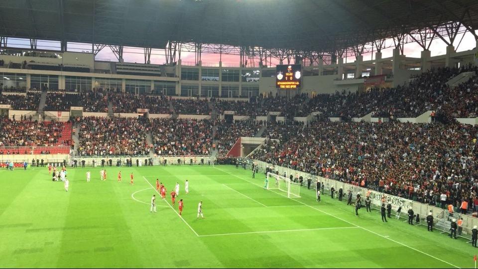 3. Lig maçında 33 bin kişilik stat doldu